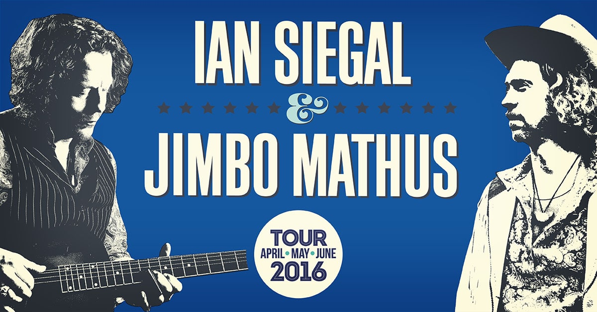 Ian Siegal & Jimbo Mathus duo tour