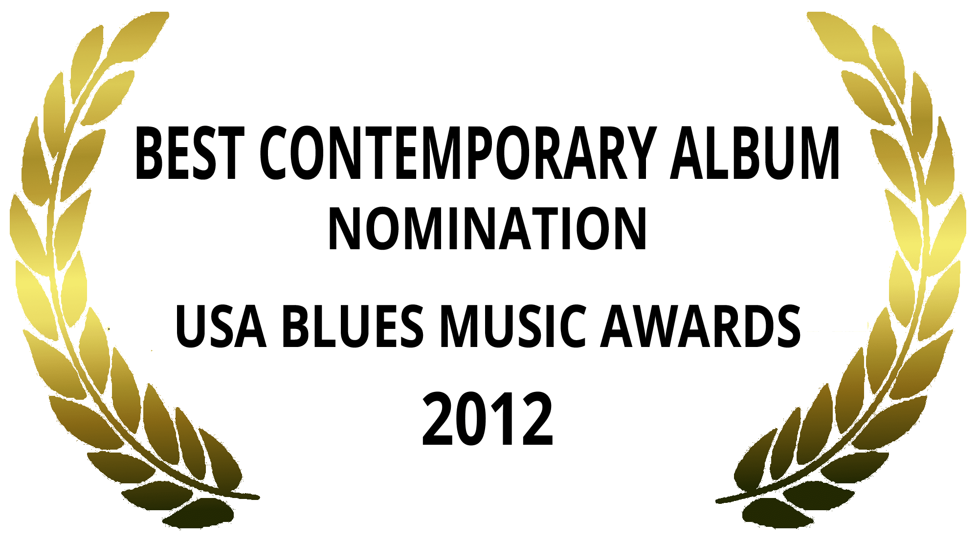 Best Contemporary Album Nominee 2012