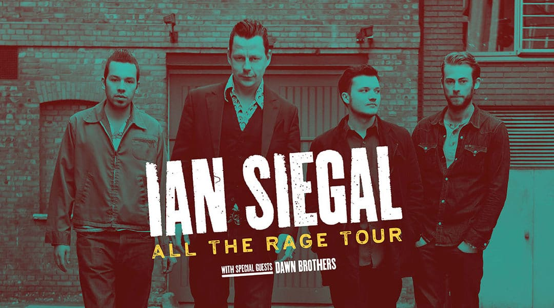 UK tour starts 11th April - Ian Siegal